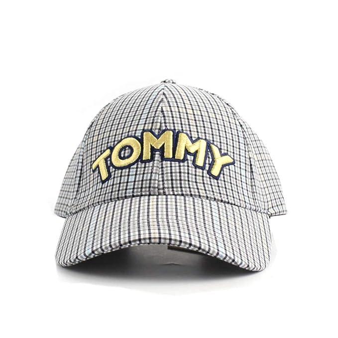 aspetto estetico fama mondiale gamma molto ambita di Tommy Hilfiger Cappello con Visiera Cotone quadrettato ...