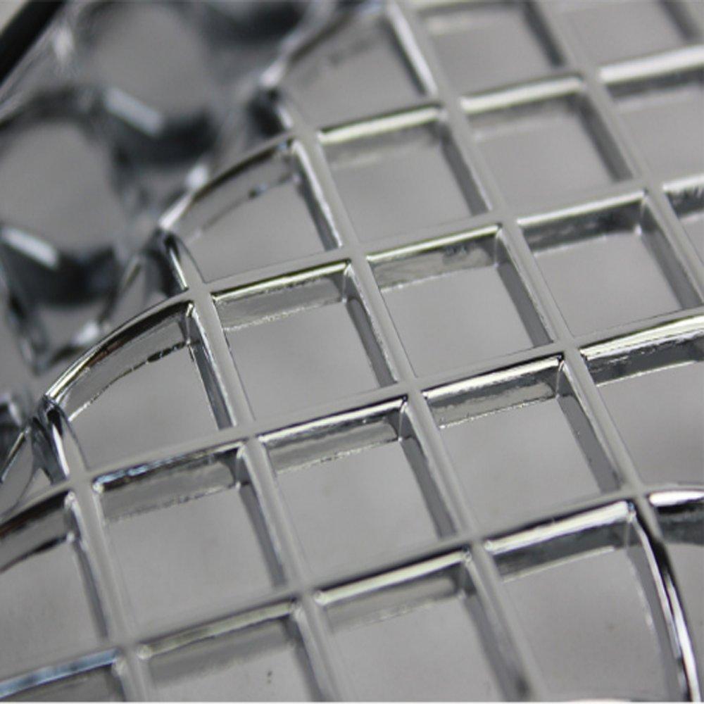 7 pcs plata rejilla para parrilla de malla Insertar carcasa