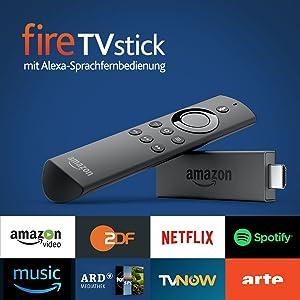 Fire TV Stick mit Alexa-Sprachfernbedienung, Zertifiziert
