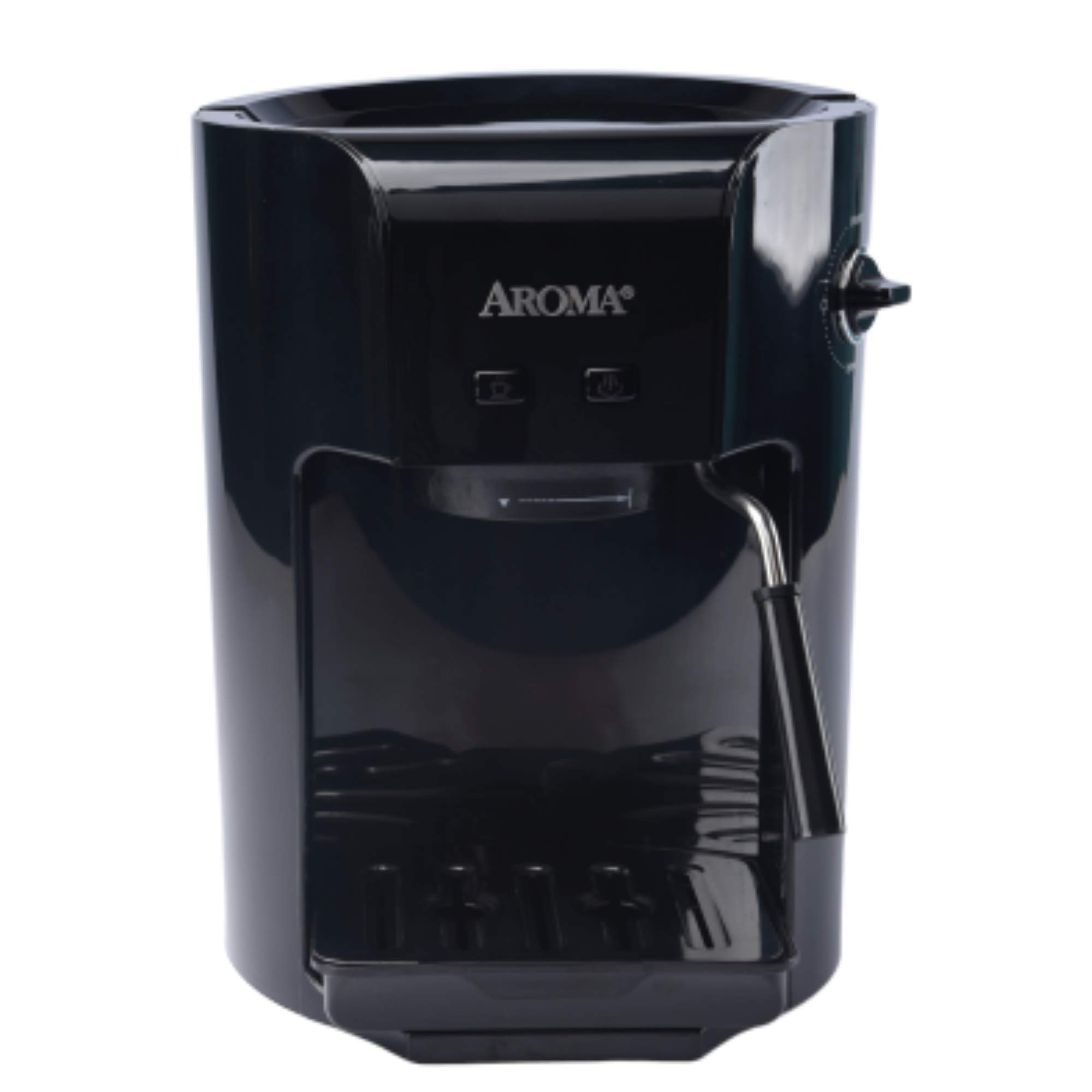 Aroma Housewares AEM-810 Aroma Espresso Coffee Maker, 1.5L/6 Cup, Black