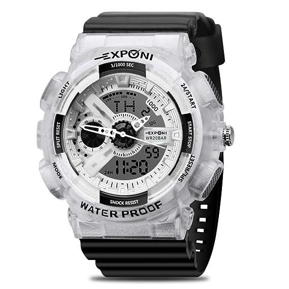 Reloj de pulsera para mujer, deportivo, moderno, 30 m, resistente al agua