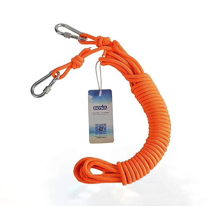 Cuerdas específicas Cuerda al aire libre Buceo snorkeling natación rescate cuerda Flotador con cuerda hebilla Cinturón de seguridad flotante Natación buceo ...