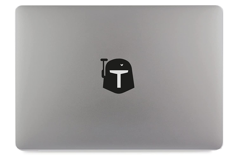 11 Helm Maske Kopf Apple MacBook Air Pro Aufkleber Skin Decal Sticker Vinyl
