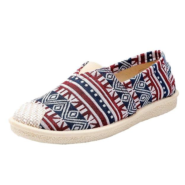 Uirend Zapatos Alpargatas Mujer - Mujer Ocasionales Loafer Zapatos Moda Planos Alpargatas: Amazon.es: Zapatos y complementos