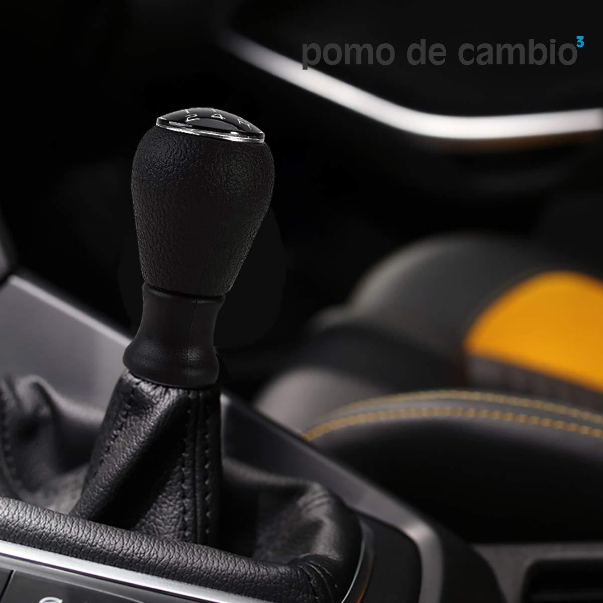 O³ Pomo Cambio De Marchas | Pomo Palanca 206-106-107-205-207-306-406/C1-2-3-Saxo: Amazon.es: Coche y moto