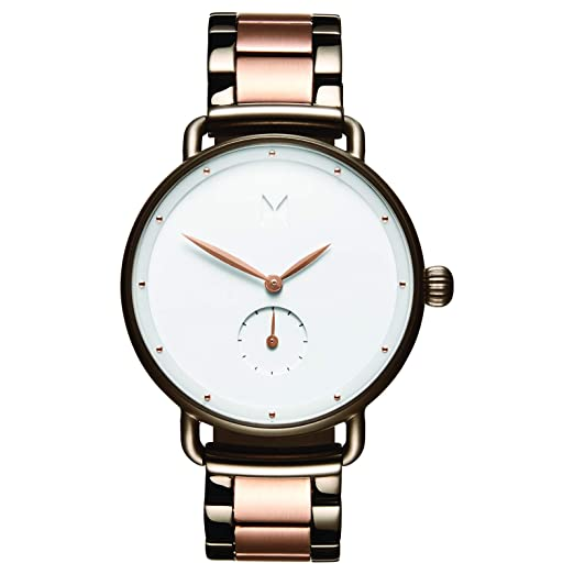 MVMT Relojes de Bloom | Reloj Minimalista analógico de 36 mm para Mujer | Pulsera de eslabones de Acero Inoxidable: Amazon.es: Relojes