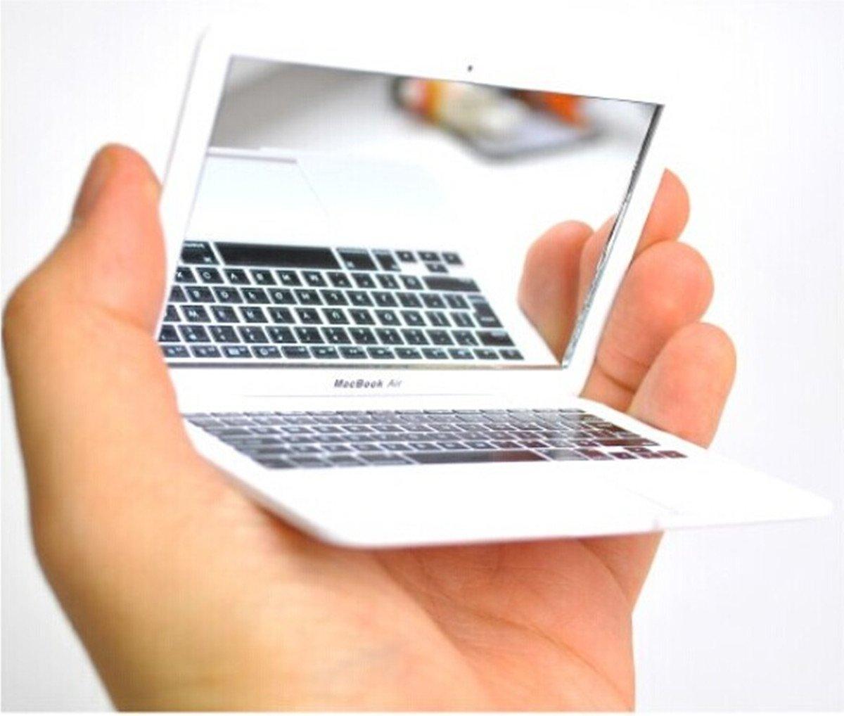 Makeup Mirror Macbook Air Apple White Mini Laptops Mirror