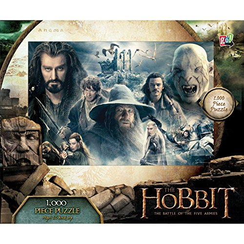 The Hobbit Battle of Five Armies Collage 1000 Piece Pu by Go! Games