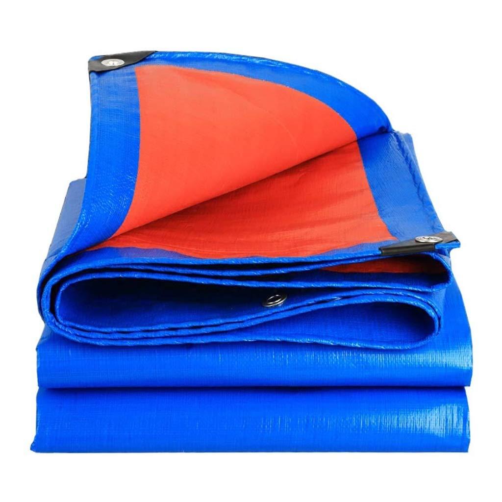 ターポリン アイレット付き日焼け止めタープシート防雨シェードシェードクロスシェード - 160g /m²の防水防水シート (Size : 8*12m) B07SBZ641T  8*12m