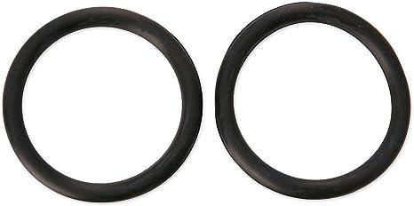 Black Rubber Peacock Stirrup Bands