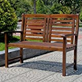 International Caravan VF-4306-IC Furniture Piece Acacia Trinidad Bench
