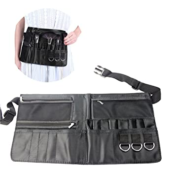 Amazon.com   Artist Professional Cosmetic Makeup Brush Bag with Zippered  Pockets and Belt Strap   Beauty b60a3131ca058