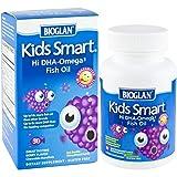 Bioglan Kids Smart Hi Dha-Omega3 Fish Oil, 500 Mg, Berry Flavor, Chewable Burstlets, 30 Ct.