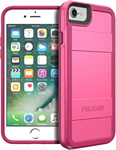 Pelican Protector Series Case for iPhone 7/6s/6 - Fuschia and Pink - C23000-000B-FSPK