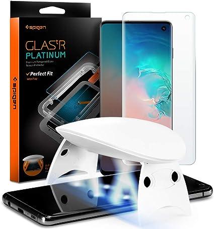 Spigen, Glas.TR Platinum, UV Protector de Pantalla para Samsung ...