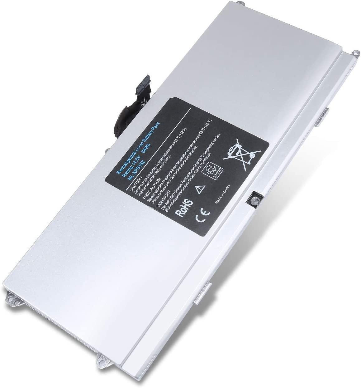 New L511X 0HTR7 Laptop Battery for Dell XPS L511Z 5834El 7502Els 0NMV5C NMV5C CN-075WY2 075WY2 Series Laptop [14.8V 64WH]