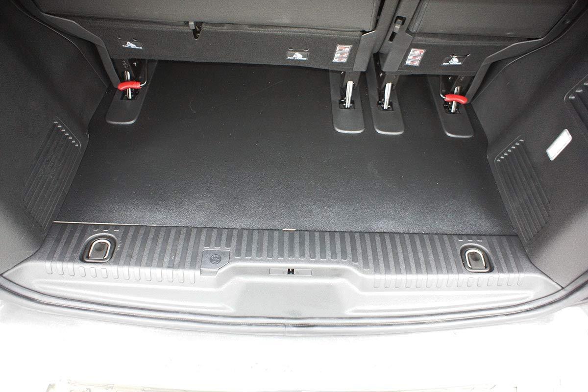 Utilizzo: per Lo Spazio Dietro la III Fila di sedili cod Medium MTM Vasca Baule Jumpy Bus 7272 dal 2016- Protezione Bagagliaio su Misura con Antiscivolo