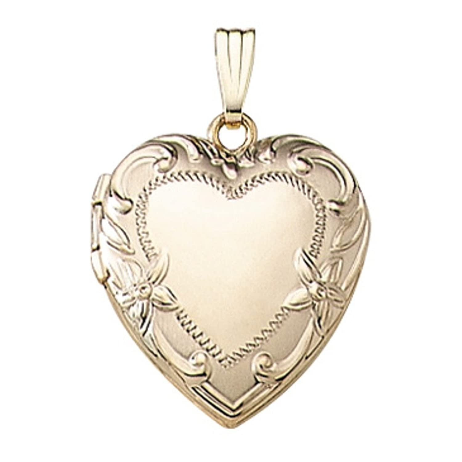 hallmarked locket solid shop vintage sweetheart lockets ct compact necklace antique the gold pendants products