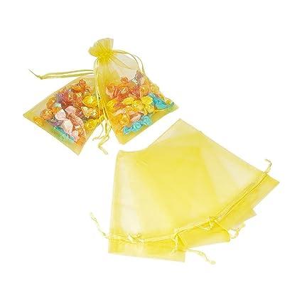 Wady 100pcs amarillo 9 x 12 cm Bolsas Bolsas Arroz ...