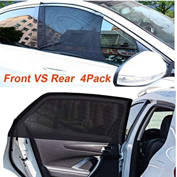 Car Magnetic Sunshade,Side Window mesh Mosquito Cover to Protect Your Baby from UV Damage Automotive Supplies