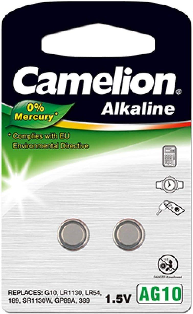 Camelion Knopfzelle Lr1130 2er Blister Alkaline 1 5v Elektronik