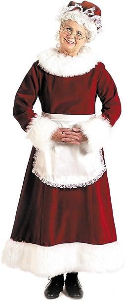 Amazon.com: Halco - Disfraz de señora Claus para adulto ...