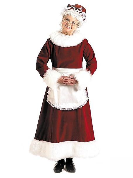 Amazon.com: Halco - Disfraz de la Sra. Claus para adulto ...