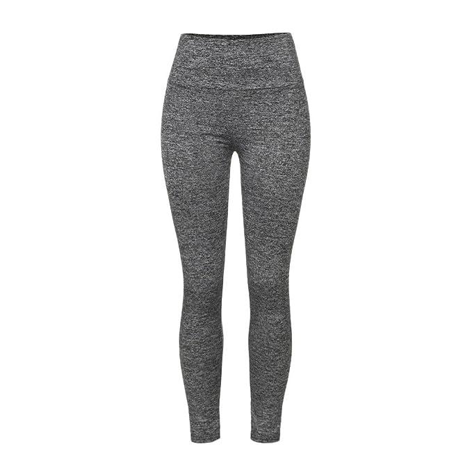 Yoga Pantalones Deportivos Leggings Push Up Mujer, Pantalon ...