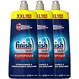 Finish Klarspüler mit Glanz- und Glasschutz, XXL Pack (3 x 1150 ml)