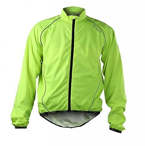 Pitbull Atletismo ciclismo equipos ciclismo chaqueta impermeable elástico respirable Jersey ciclismo otoño primavera, color -