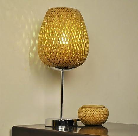 Button Typ Bambus Elektronische Transformatoren Blütenblatt Lichter Hotel  Schlafzimmer Lampe Schreibtischlampe Kreative Holz Led