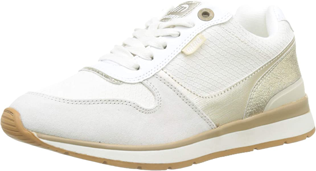MTNG 69486, Zapatillas para Mujer, Blanco (Soft Off White/Baluva Platino/