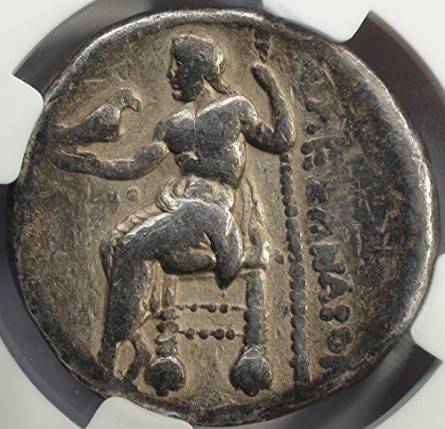 GR 336-323 BC Alexander the Great Type Ancient Macedonia Greece Coins Greek Silver Coin AR Tetradrachm Choice Fine NGC (Great Tetradrachm Silver Coin)