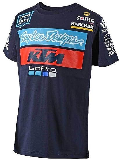Troy Lee Designs Camiseta niño KTM 2018 Team Azuloscuro: Amazon.es: Ropa y accesorios