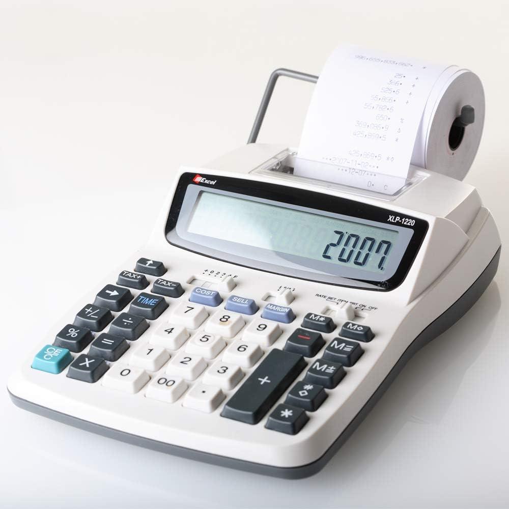 OFITURIA ® 300 Rollos Papel Térmico 57x55x12 mm para Sumadora Impresora TPV, Sin Bisphenol A: Amazon.es: Electrónica