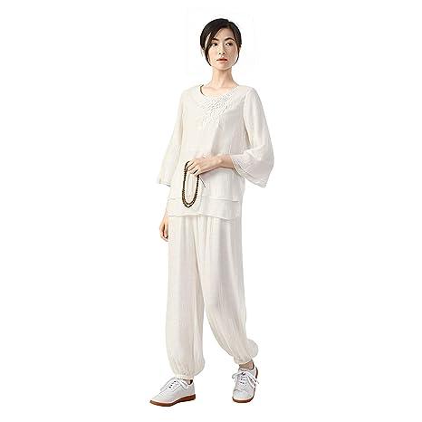 JHDUID Traje de Wushu Ropa de Tai Chi Ropa de Entrenamiento ...