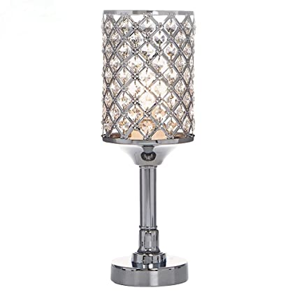 Popilion all match style romantic atmosphere bedroom crystal table popilion all match style romantic atmosphere bedroom crystal table lampinlaid rhombus crystal mozeypictures Images