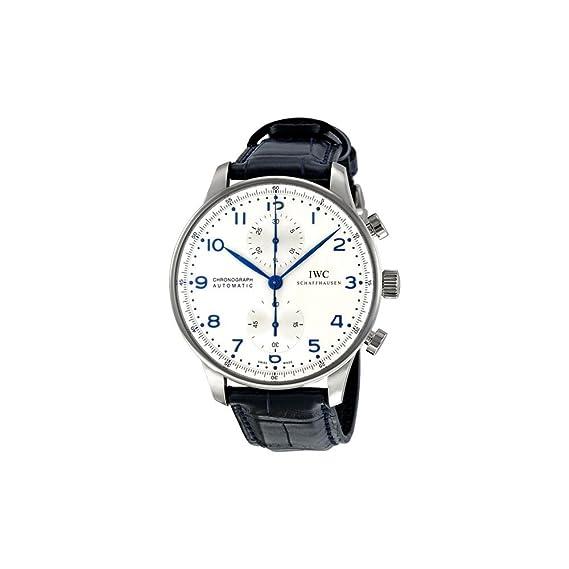 IWC Portugieser - Reloj (Reloj de pulsera, Masculino, Acero inoxidable, Acero inoxidable