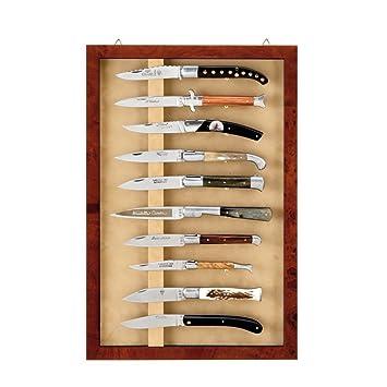 Laguiole Actiforge - Vitrine Murale pour couteaux ...