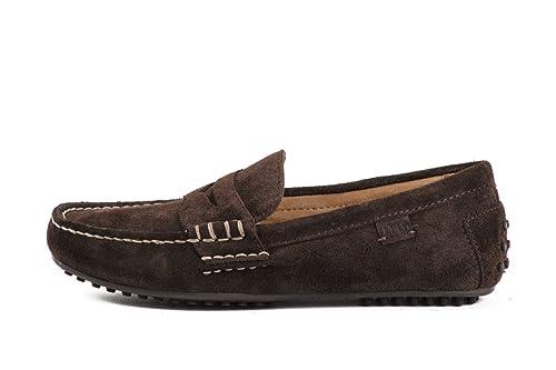 Ralph Lauren - Mocassins Ralph lauren Wess marron foncé - Wess marron foncé - 40 , Marron: Amazon.es: Zapatos y complementos