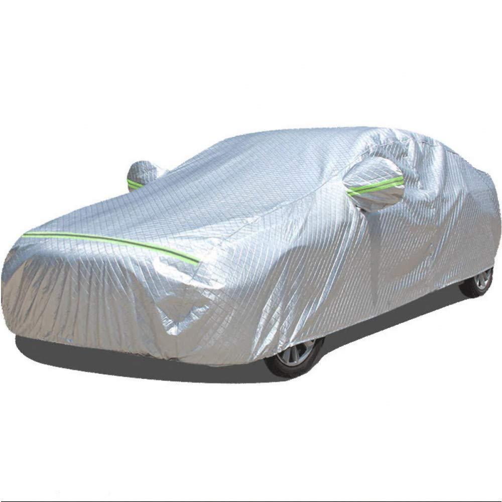 ERQINGCZ Wasserdichte Autoabdeckung Auto Deckt Wasserdichten Regenschirm Sonnen Schatten Funda Für Toyota Prius 30 Wunsch Yaris CGoldlla 150 CGoldlla Auto Versenkbare Vorhang
