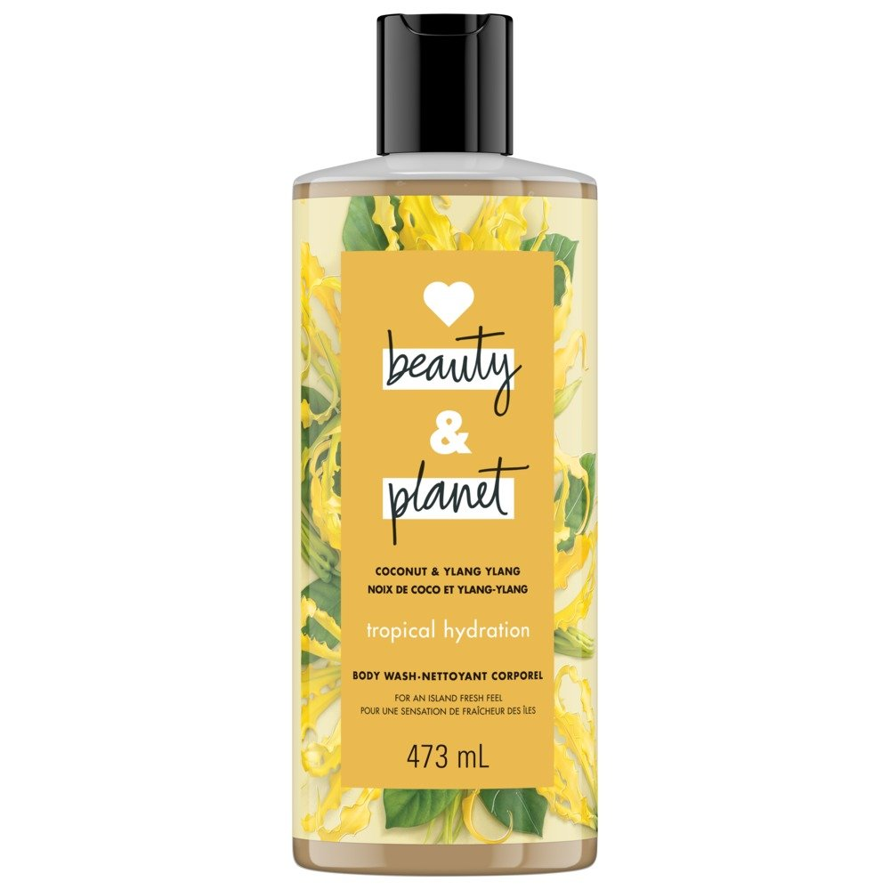 Love Beauty And Planet Coconut & Ylang Ylang Tropical Hydration Body Wash 473 mL Unilever