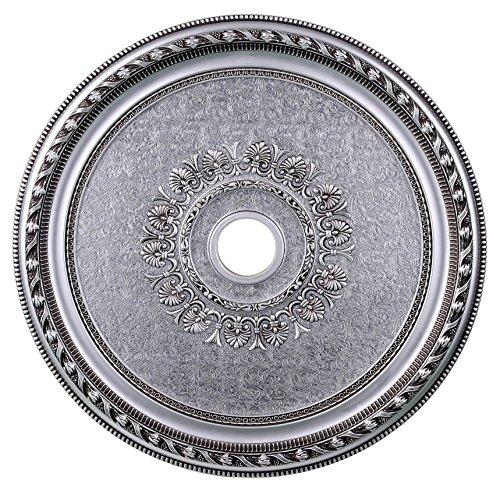 Pewter Ceiling Medallion (Elegant Lighting MD202D32PW Medallion, Pewter, 32