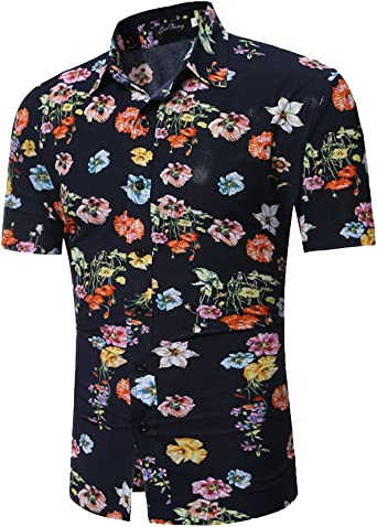 Camisa Hawaiana para Hombre Casual Manga Corta Camisas Playa 3D Estampada Hawaii Shirt: Amazon.es: Ropa y accesorios