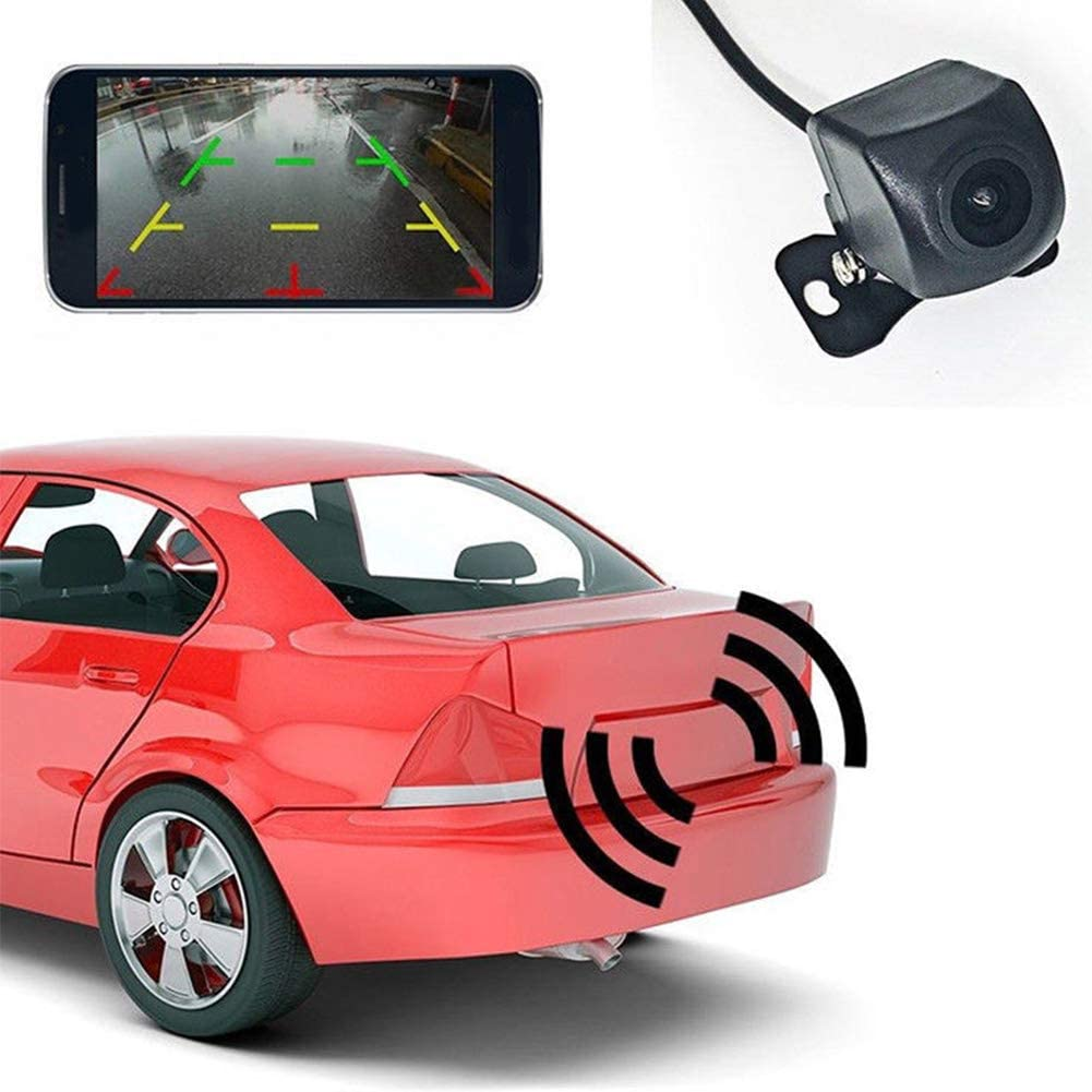 S28esong Rear View Backup Camera Reversing Rear Camera,150/°WiFi Wireless Car Rear View Cam Backup Reverse Camera,HD Backup Reverse