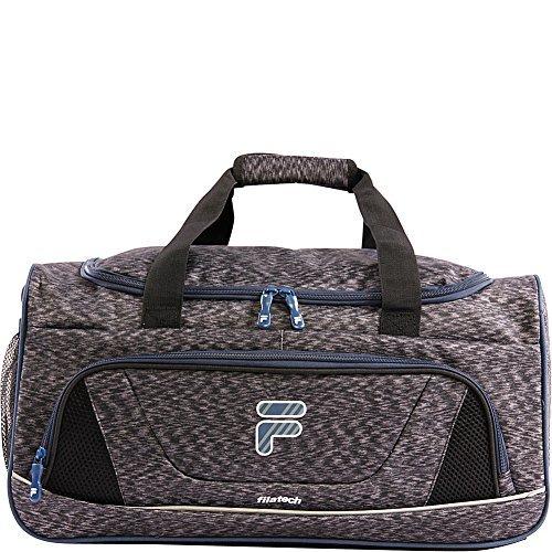 Cheap Fila Victory 2.0 Gym Sports Bag, Grey/Navy, One Size