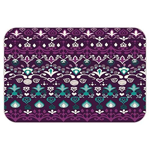 [SCOCICI Brand Custom Coral Fleece/Coral Velvet & Non-slip Rubber Backing Indoor / Outdoor / Bathroom/Kitchen/Workstations Doormat Mat] (Best Halloween Costume Florida)