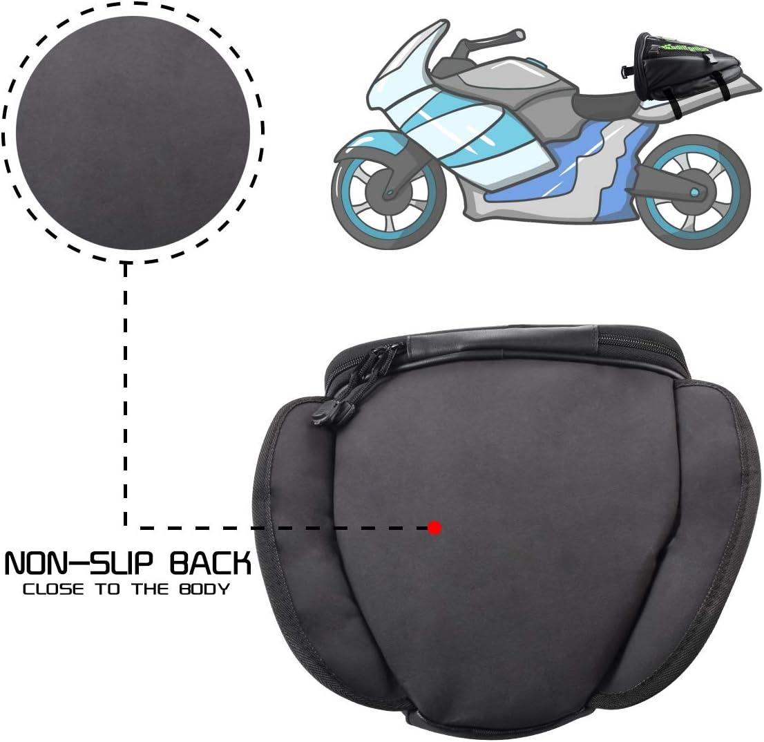 28 l zaino da moto KKmoon Borsa per sedile posteriore per moto impermeabile borsa per il sedile posteriore della moto