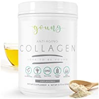 Young Multi Collagen Powder - Keto Friendly Brazillian Hydrolyzed Peptides from...