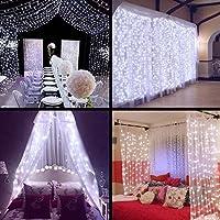 Curtain Lights - SurLight 9.8ft*9.8ft 306LEDs Window...